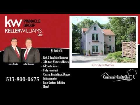 Bed & Breakfast Business for Sale w/ 6 Private Suites, Fully Furnished, Lebanon, OH 45036