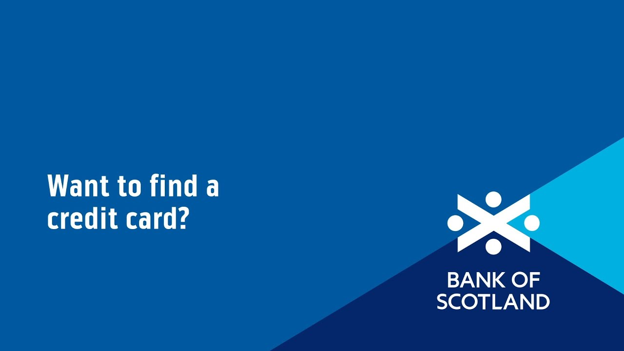 Credit Cards Apply For A Credit Card Bank Of Scotland