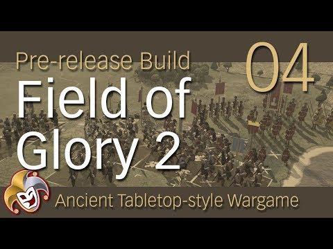 Field of Glory 2 ~ Pre Launch ~ 04 ~ NEW BATTLE ~ Baggage Train