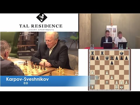 A.Karpov vs E.Sveshnikov - Game 1