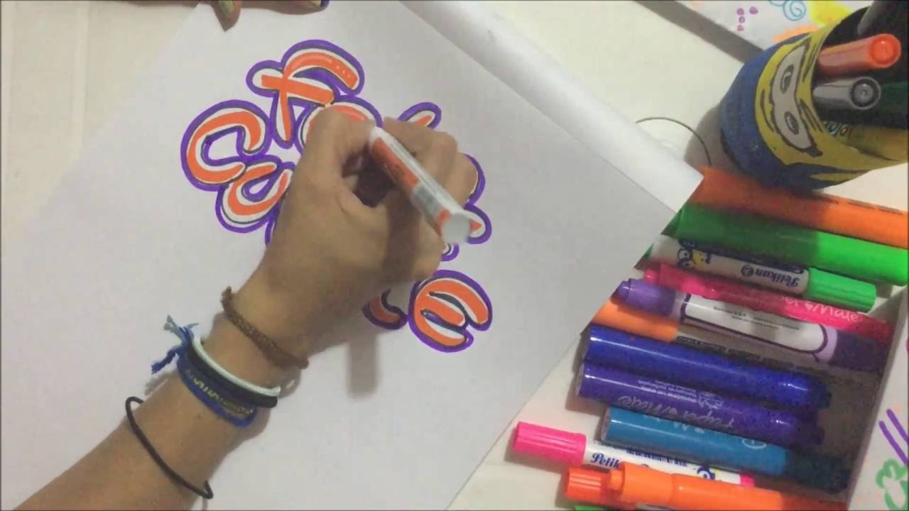 Letras Para Decorar Cuadernos