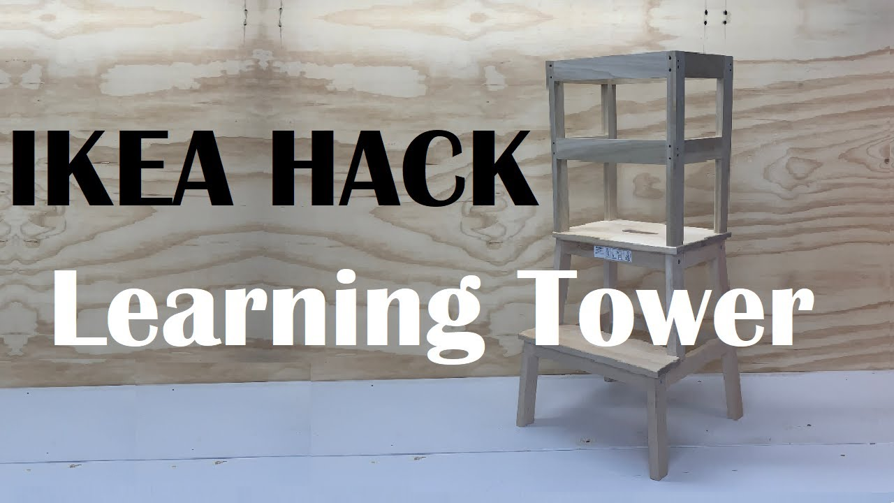 Diy Ikea Hack How To Build A Learning Tower Bekvam Step Stool