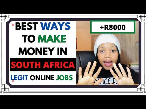 BEST WAYS TO MAKE MONEY ONLINE IN SOUTH AFRICA 2021