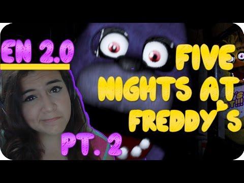 BabiiBL | Five Nights at Freddy's | Pt.2 Nunca terminaré D: | Con Cookie!♥ | 2.0