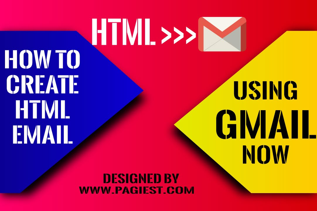How to Create an HTML Email in Gmail, HTML TO GMAIL - YouTube