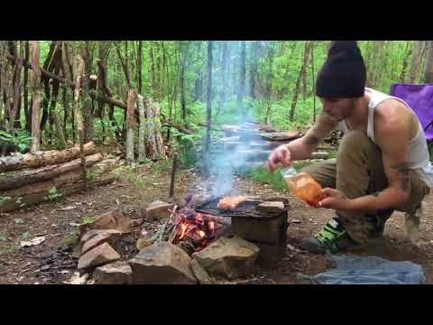 Summer Bushcraft Solo-Overnighter At Camp.