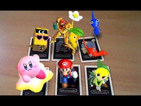 Nintendo 3ds Ar Games Review Augmented Reality Youtube