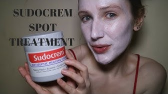 Get rid of spots, acne and blemishes FAST Sudocrem Face Mask