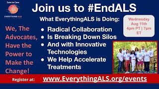 Join us to #EndALS
