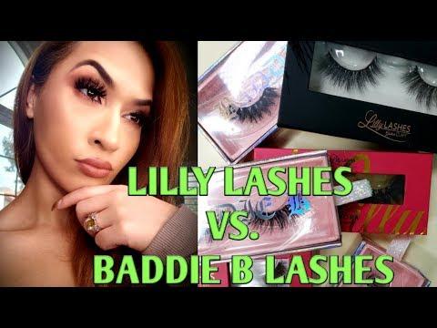 LILLY LASHES VS. BADDIE B LASHES