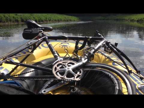 Bikerafting Hunte Start