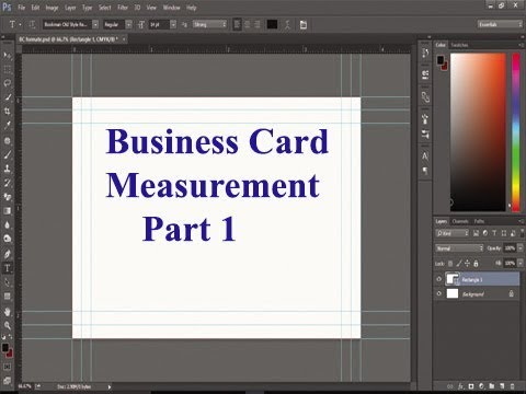 Business card measurement bengali tutorial part 1 youtube business card measurement bengali tutorial part 1 colourmoves