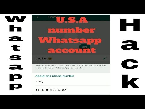 U.S.A Number Whatsapp Account Trick 2017 In Hindi | No Root | Primo App