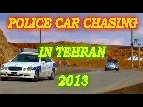 Police Car Chasing, Drink Driving in Tehran 2013-2014 (تعقیب پلیس و مست رانندگی در تهران)