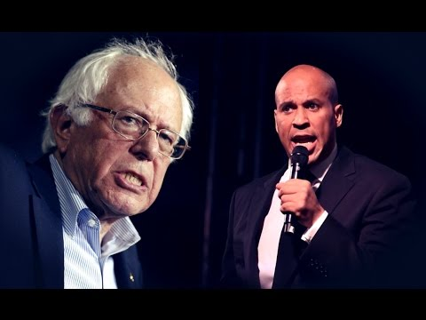 Cory Booker Responds to Bernie Sanders