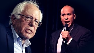 Cory Booker Responds to Bernie Sanders
