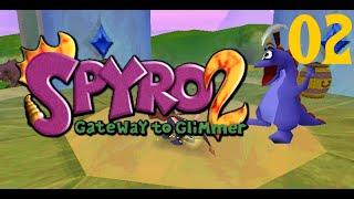 Let´s Play Spyro 2 Gateway to Glimmer #02 Yeti-Panik