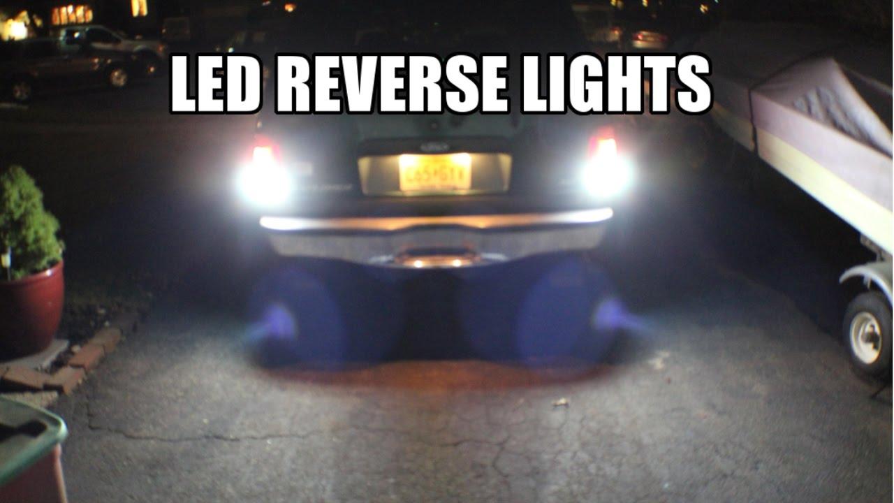 2017 Toyota 4runner >> How to Install LED Reverse Lights! (2000 Explorer) - YouTube