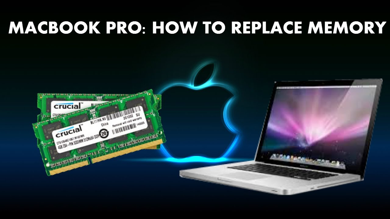 how to change the ram in macbook pros