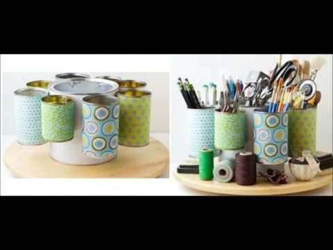 Reciclaje de latas ideas para reciclar latas youtube - Reciclar latas de conserva ...