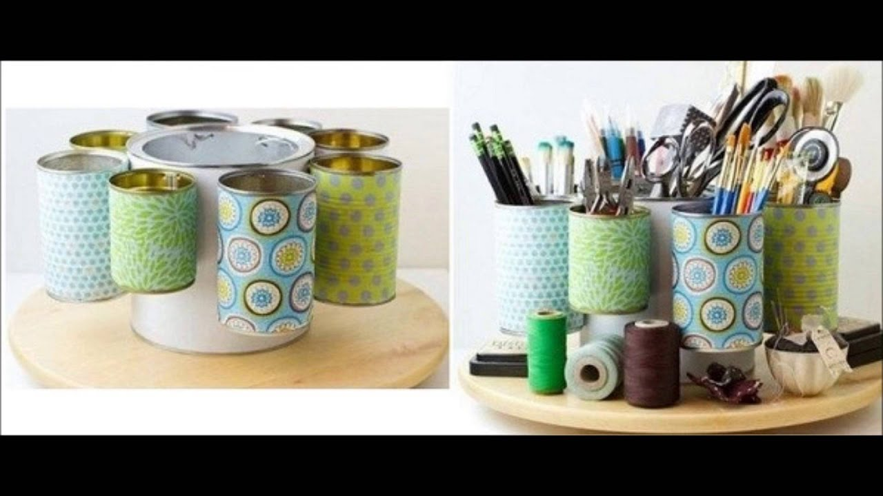 reciclaje de latas ideas para reciclar latas youtube