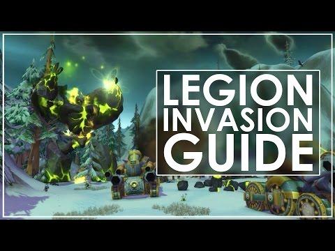 "WoW Legion Pre-Expansion ""Legion Invasion"" Event Guide"