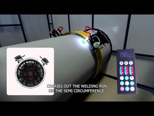 PWT video 3D, soldadura automática.