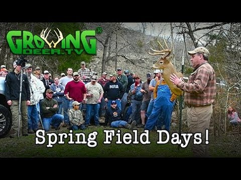 How To | Deer Hunting, Turkey Hunting, and More From Field Day 2018 (#436) @GrowingDeer.tv