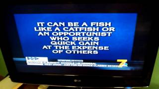 Andy Hageman filmed this 'Bottom feeder' Jeopardy clip - his coworkers know why