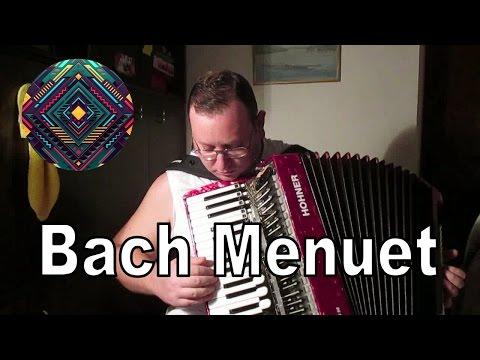 Minuet G Major + G Minor, J. S.  Bach - Accordion