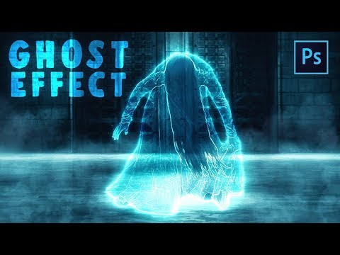 [ Photoshop Manipulation ] Ghost Effect - Photoshop Tutorial