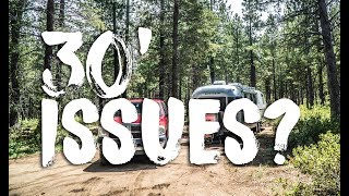 Limitations & Issues with a 30' Airstream