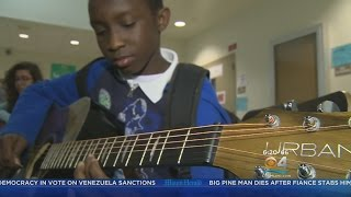 Mentor Uses Music To Inspire At-Risk Youth