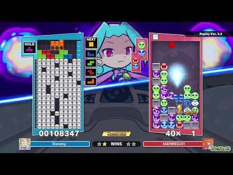 [Puyo Puyo Tetris 2] Puzzle League VS: Doremy vs. SSENRED231 (26-03-2021, PC, JP voices) |