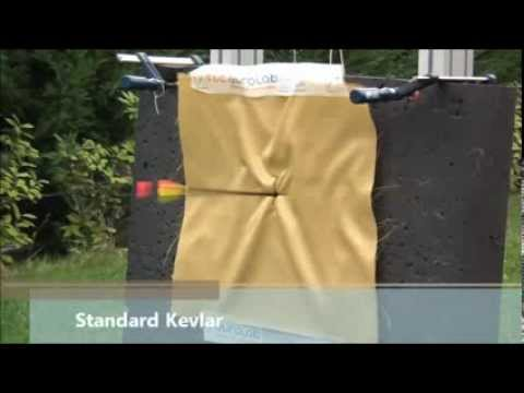tec star kevlar test with stf tec star antispike youtube. Black Bedroom Furniture Sets. Home Design Ideas