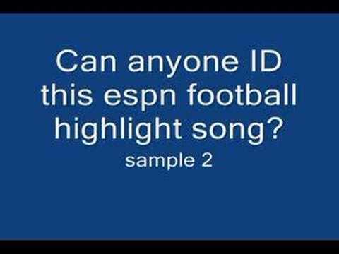 Espn football highlight song