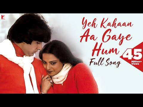 Yeh Kahaan Aa Gaye Hum Song, ये कहाँ आ गए हम, Silsila | Amitabh Bachchan | Rekha | Lata Mangeshkar