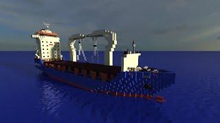 Minecraft Cargo Ship- Clipper Century [Full Interior][+Download]