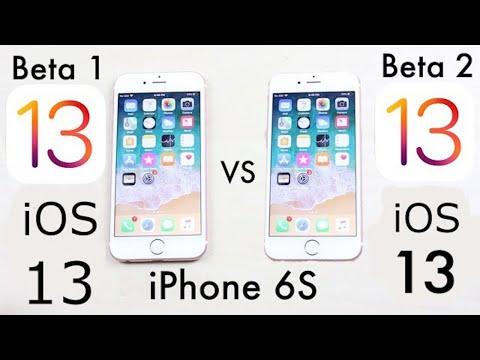 iPhone 6S: iOS 13 BETA 2 Vs iOS 13 BETA 1! (Comparison)