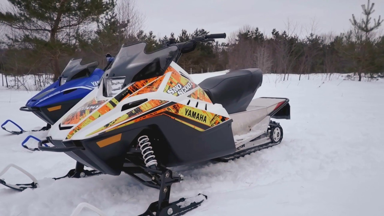 Yamaha Sno Scoot Youth Snowmobile