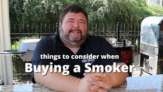 Buying a Smoker | Smoker Buying Guide with Pitmaster Malcom Reed