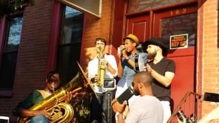 "Jon Batiste - ""Killing Me Softly,"" Williamsburg, Brooklyn, June 9, 2015"