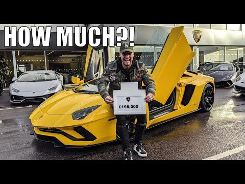 THE REAL COST OF BUYING A LAMBORGHINI ON FINANCE!!