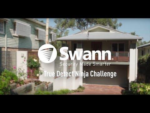 Ninja Warrior vs Swann Security Cameras. Who Wins? (Full Version)