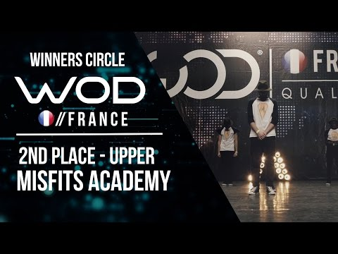 Misfits Academy | 2nd Place Upper | World of Dance France Qualifier | Winners Circle | #WODFR17