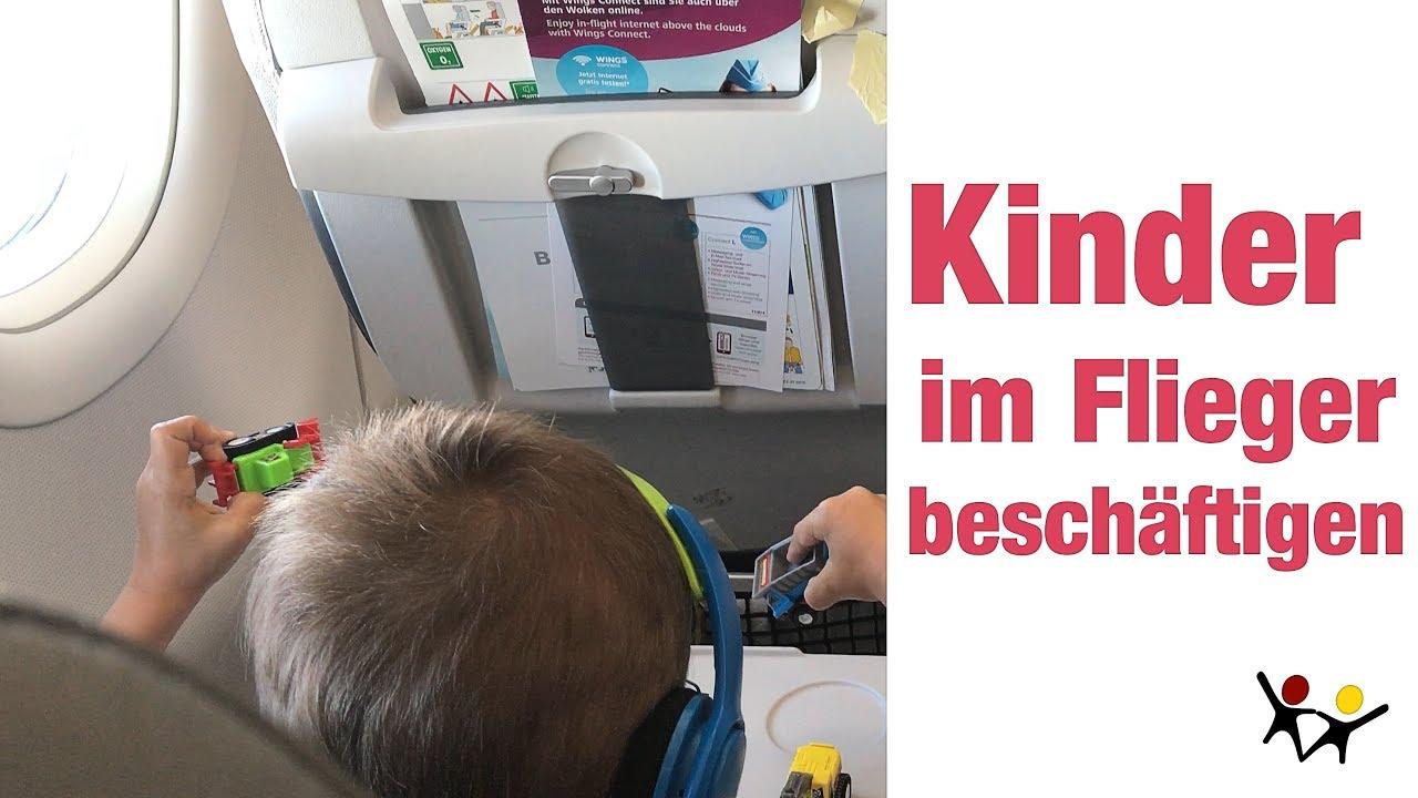 Fliegen Mit Kindern Kindern Beschaftigen Mit Diesen 4 Einfachen