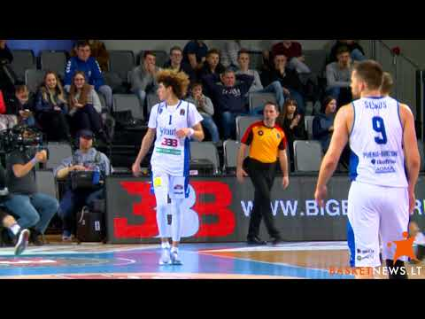 LaMelo and LiAngelo Ball highlights against VEF Riga