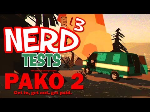 Nerd³ Tests... PAKO 2 - Crazy Getaway Driver