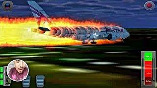 My Plane Crashed|Qatar Airways A380|Flight 787