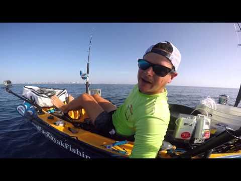 Extreme offshore kayak fishing tips on sailfish release for Deep blue kayak fishing